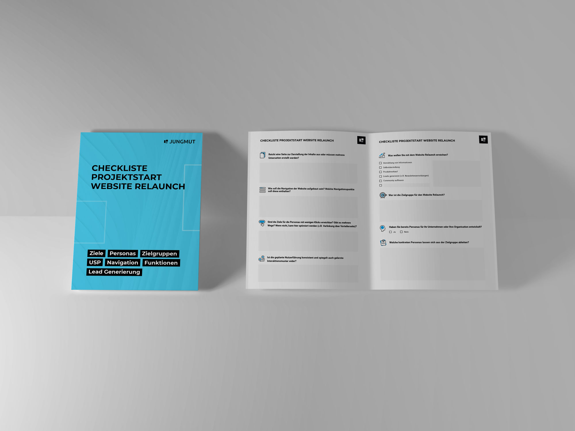 JUNGMUT-Website-Relaunch-Checkliste-Mockup-Magazin